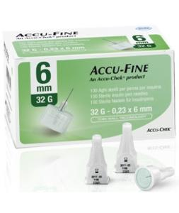AGHI ACCU-FINE 0,23x6MM 32G 100PZ accufine