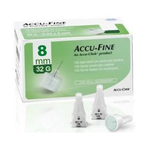 AGHI ACCU-FINE 0,23x8MM 32G 100PZ accufine