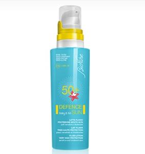 BIONIKE DEFENCE SUN BABY E KID LATTE FLUIDO SPF 50+ 125 ml