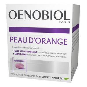 OENOBIOL PEAU D ORANGE 40CPR