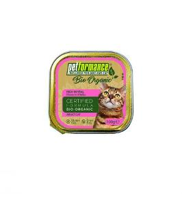 PETFORMANCE BIO UMIDO  GATTO VITELLO 100G