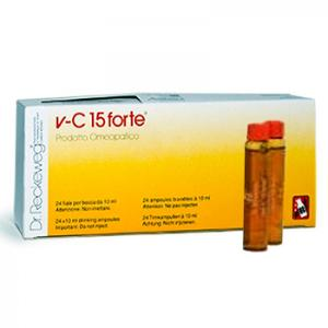 RECKEWEG VC 15 FORTE 24 FIALE V-C 15 v c  Dr reckeweg vc15 Flaconcini vc 15 forte Orale SCAD 2/2022